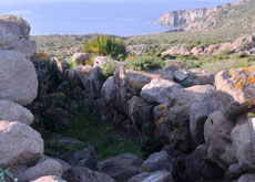 Tombs of the Giants in Cala Sapone